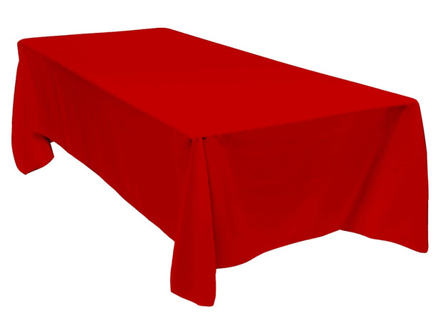 Red Rectangle Tablecloth (137x244cm)