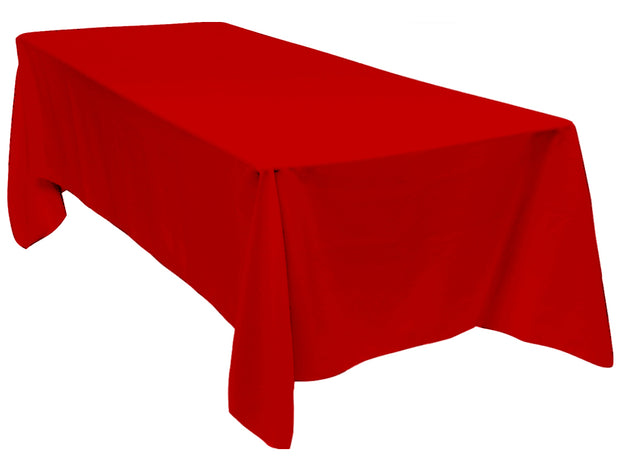 Red Rectangle Tablecloth (153x259cm)