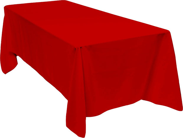 Red Rectangle Tablecloth (153x320cm)