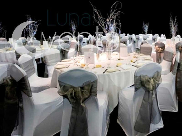 White Round Tablecloth (300cm) function