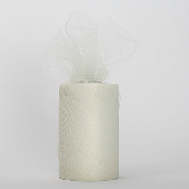Ivory Medium Tulle Fabric Roll Wedding Party Material