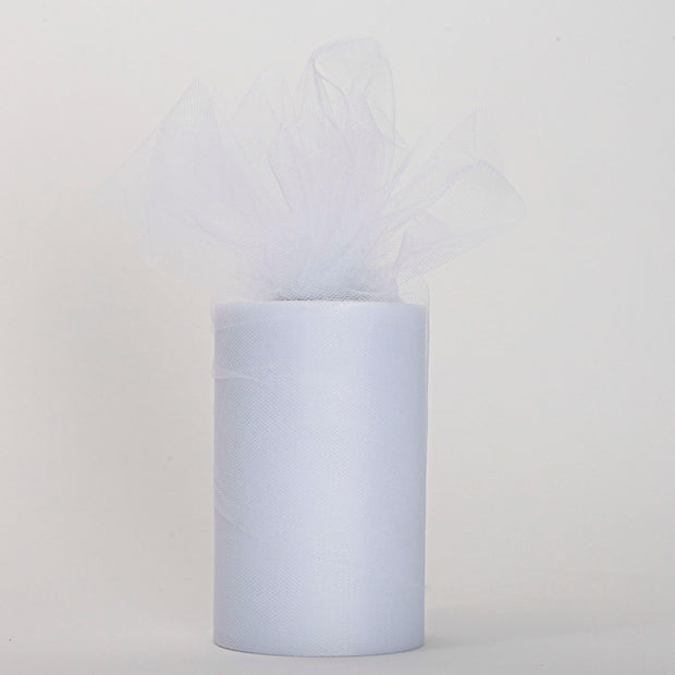 White Medium Tulle Fabric Roll Wedding Party Material