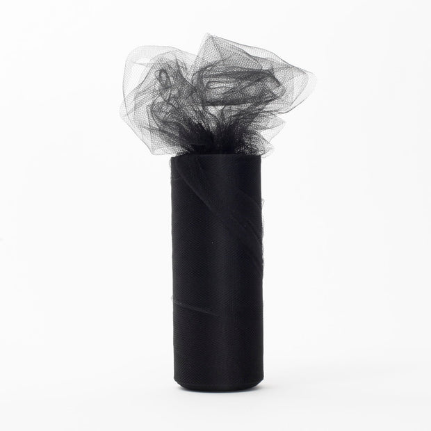 Black Tulle Fabric Roll Wedding Party Material