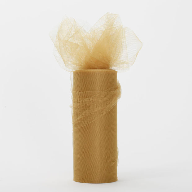 Gold Tulle Fabric Roll Wedding Party Material