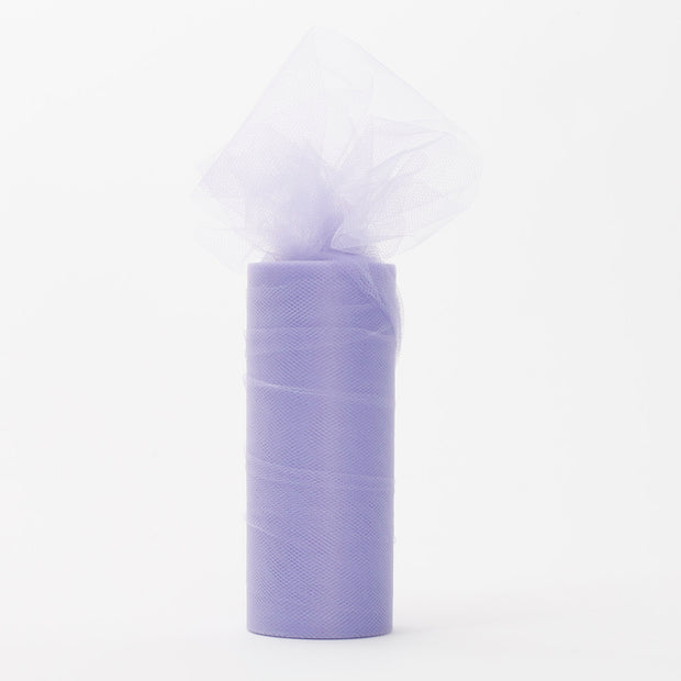 Lavender Tulle Fabric Bolt Roll Wedding Party Material