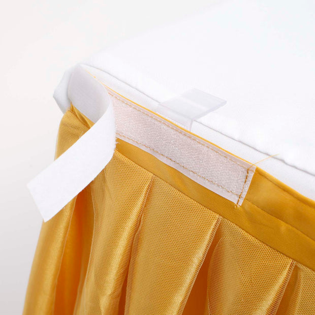 Gold Tulle Tutu Skirting