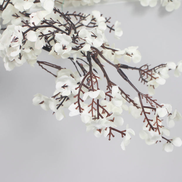 Large Cherry Blossom Branch - White (1.1m) Close Up A