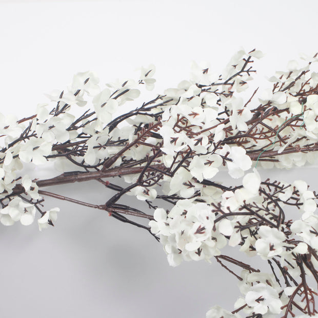 Large Cherry Blossom Branch - White (1.1m) Close Up B