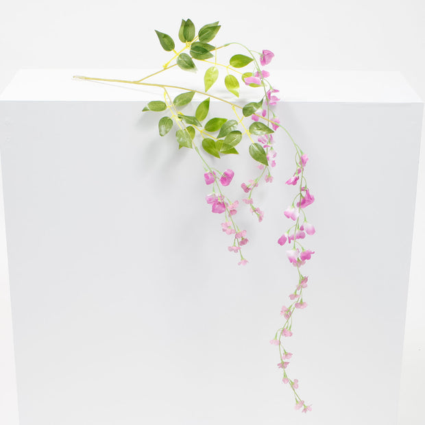 Medium Premium Wisteria Stems - Fuchsia (1.2m)