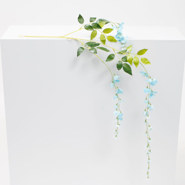 Medium Premium Wisteria Stems - Light Blue (1.2m)