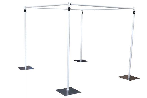Backdrop Stand Set square cube
