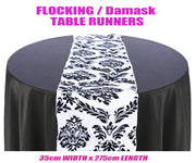 Flocking Table Runner