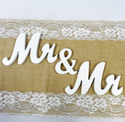 Mr & Mr Wooden Letter Set