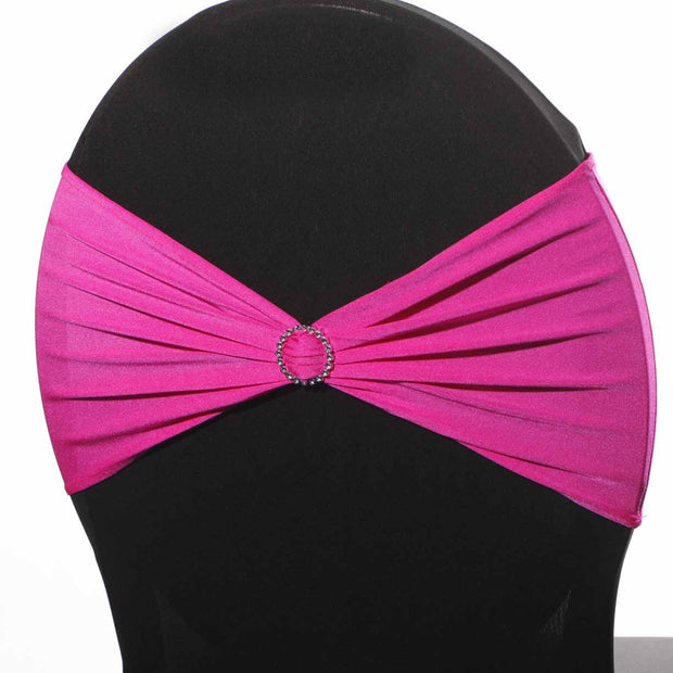 Lycra Chair Bands - Hot Pink
