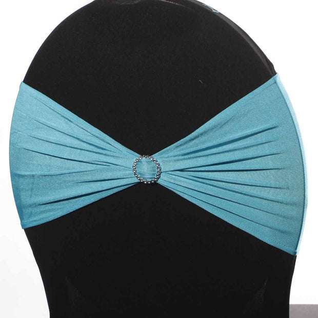Lycra Chair Bands - Turquoise