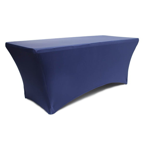 Navy Lycra Fitted Tablecloth (6ft)