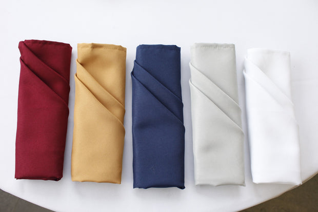 Cloth Napkins - Gold (50x50cm) Colour Group