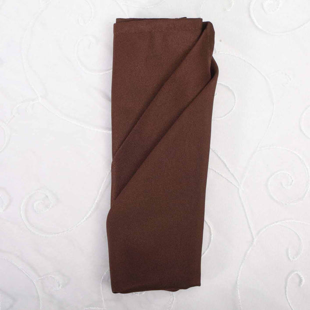 Cloth Napkins - Chocolate Brown (50x50cm)