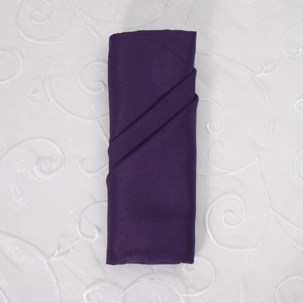 Cloth Napkins - Dark Purple (50x50cm)