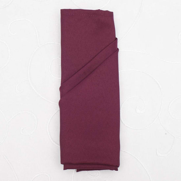 Cloth Napkins - Plum (50x50cm)