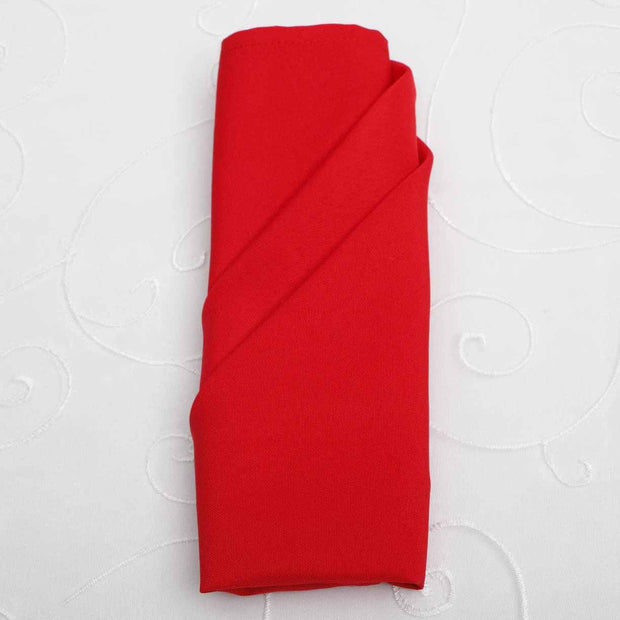 Cloth Napkins - Red (50x50cm)