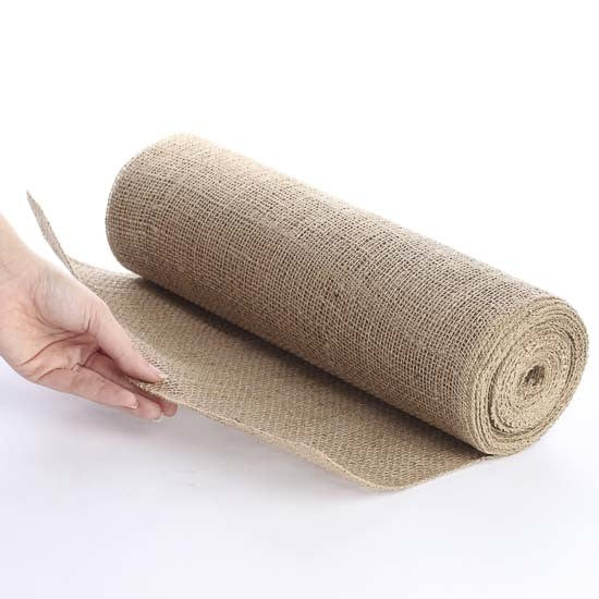 Hessian Table Runner - 45cm x 10m roll