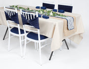 Tiffany Chair Cushion Covers - Navy