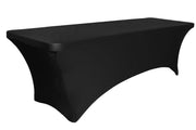 Black Lycra Fitted Tablecloth (6ft) - High Arch