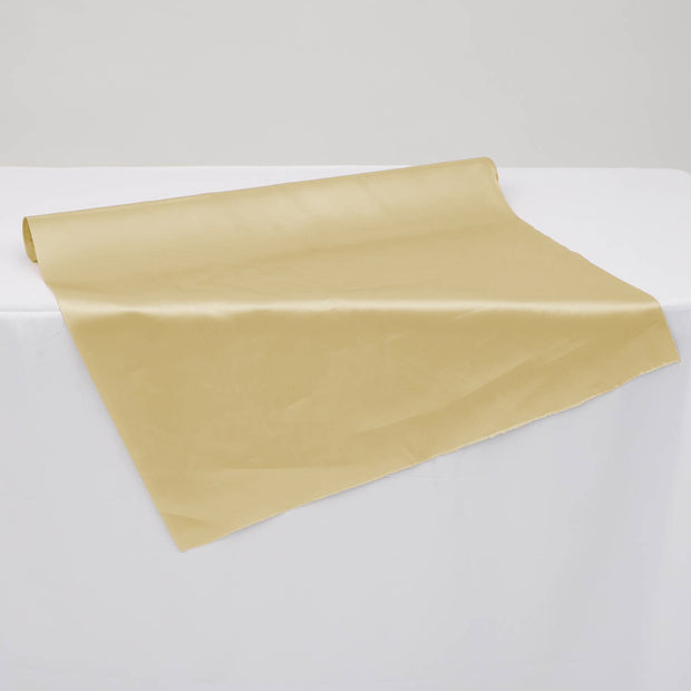 Clearance Satin Fabric Roll - Champagne