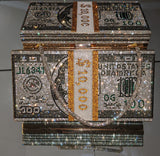 Stack of Dollars Money Bag