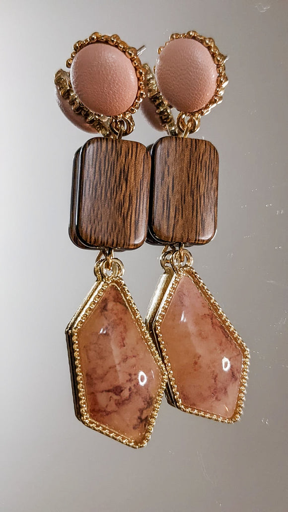 Adama Tribal Inspired Dangle Earrings