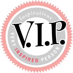 Subscribe to receive VIP emails from Inspirations