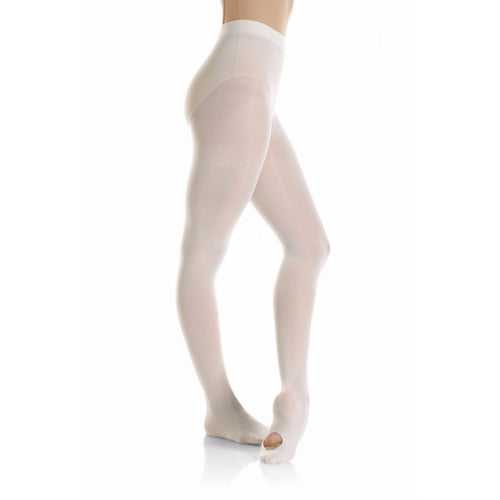 Mondor Convertible Foot Ultra Soft Tight in White