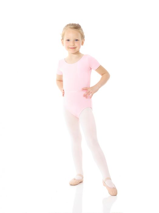 Mondor Royal Academy Of Dance Short Sleeve Leotard in True Pink