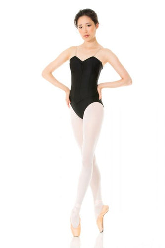 Mondor Corset Leotard in Black