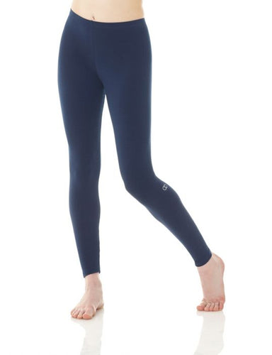 Mondor Cotton Classics Legging in True Navy
