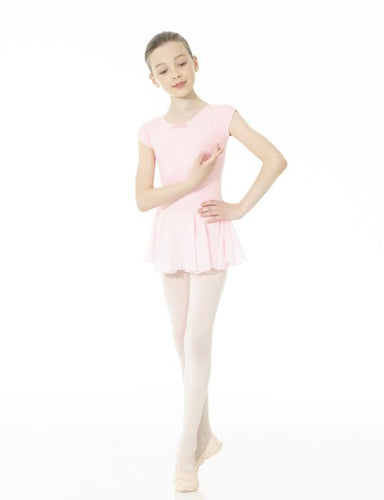 Mondor Studio 55 Skirted Leotard in True Pink