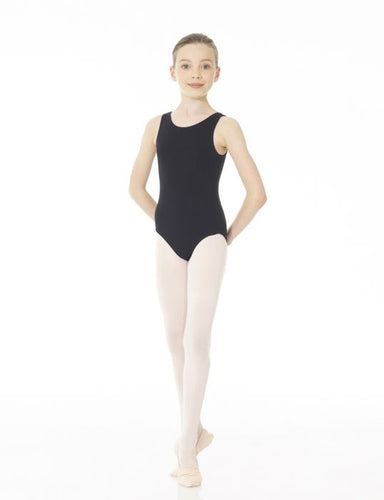 Mondor Studio 55 Tank Leotard in Black