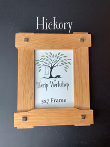 Craftsman Arts and Crafts 5x7 Picture Frame in Greene and Greene style -- great Father's Day Gift