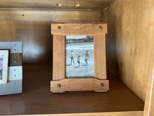 Load image into Gallery viewer, Craftsman Arts and Crafts 5x7 Picture Frame in Greene and Greene style -- great Father's Day Gift
