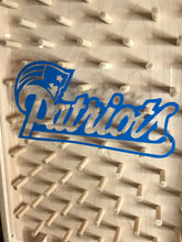 Load image into Gallery viewer, New England Patriots NFL Plinko Board / Drinko man cave Game