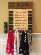 Load image into Gallery viewer, Peloton PR Tracker | Custom Personal Record Tracker Board | Spin Cycling Chalkboard