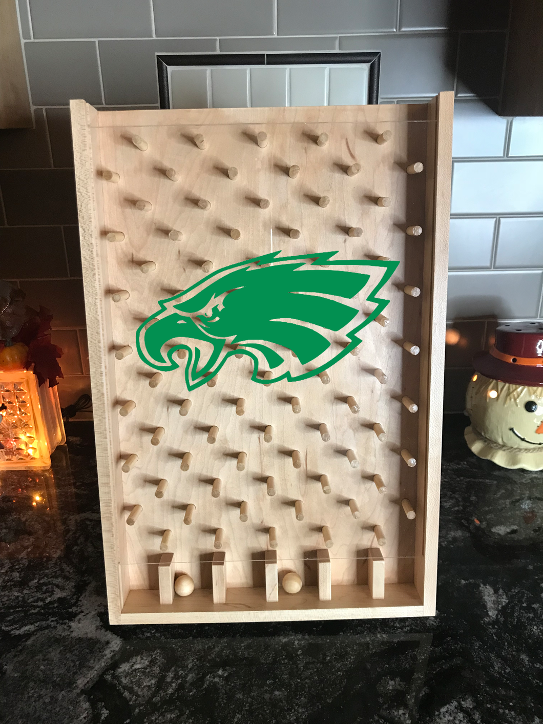 Philadelphia Eagles NFL Plinko Board / Drinko Game