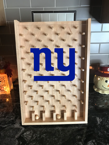 New York Giants Plinko board / Drinko Game