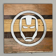 Load image into Gallery viewer, Rustic Wall Art inspired by Punisher and Avengers - 6 designs | Avengers Reclaimed Home Decor