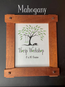 Craftsman Arts and Crafts 8x10 Picture Frame in Greene and Greene style