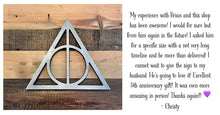 Load image into Gallery viewer, Harry Potter inspired rustic wall art - 5 designs