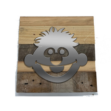 Load image into Gallery viewer, Rustic Wall Art inspired by Sesame Street - 7 designs | Sesame Street Reclaimed Home Decor