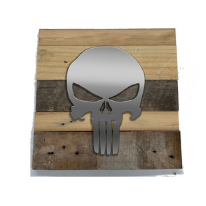 Rustic Wall Art inspired by Punisher and Avengers - 6 designs | Avengers Reclaimed Home Decor