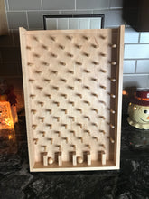 Load image into Gallery viewer, Wooden Plinko / Drinko Game Board - Natural Stain